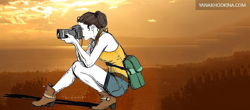 Как создать портфолио фотографа