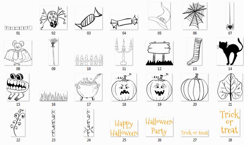 Halloween клипарт