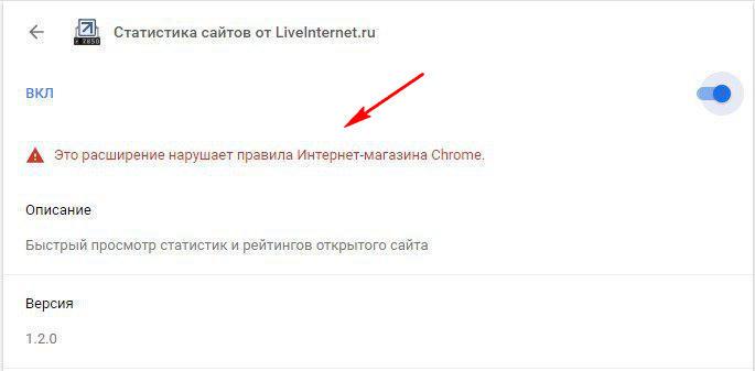 LiveInternet для хром