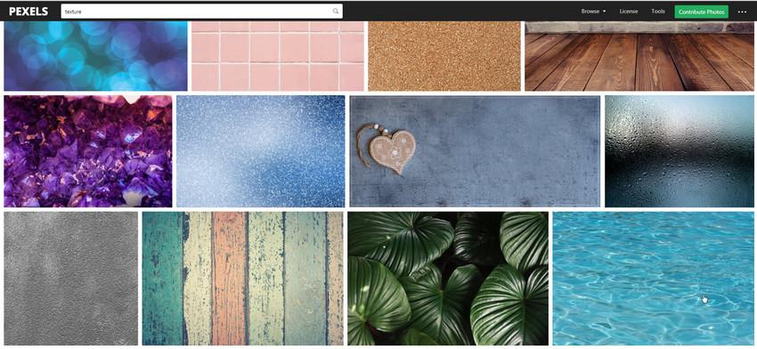 Текстуры для сайта pexels.com