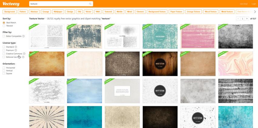 сайт с бесплатными векторными текстурами