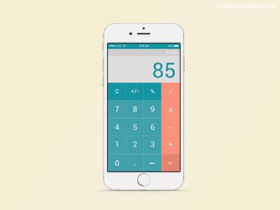 Дизайн калькулятора