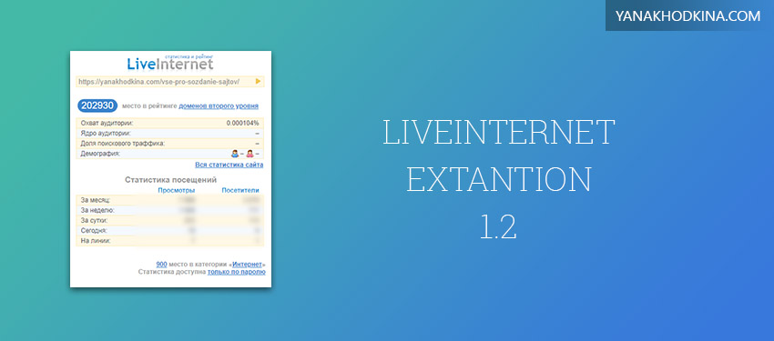 liveinternet extantion 1.2 download