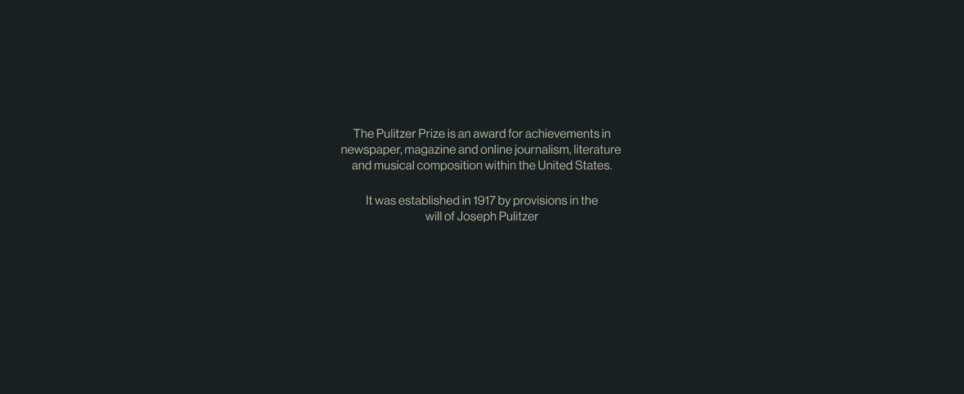 Пулитцер редизайн сайта