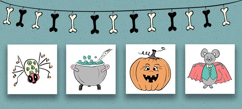рисунки Хеллоуин