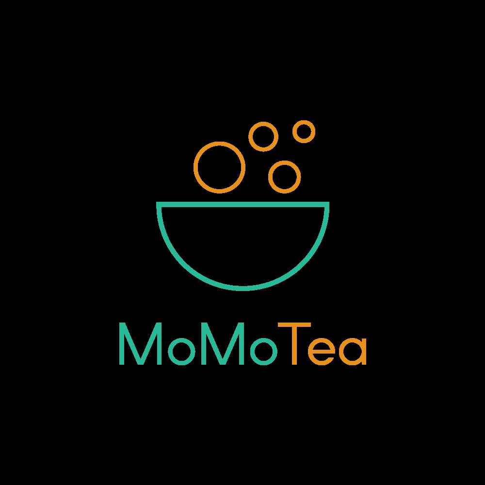 концепт дизайн лого MomoTea