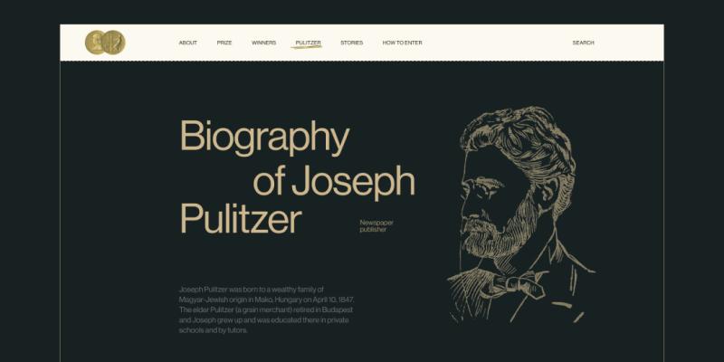 Редизайн сайта премии