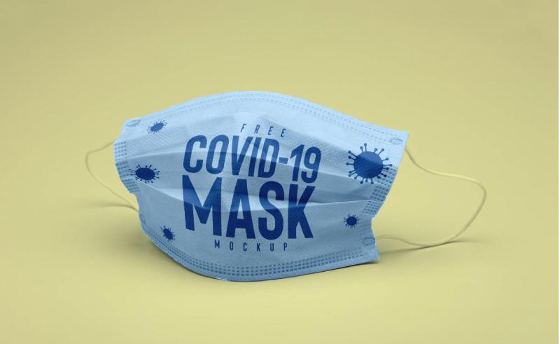 Антивирусная маска. Мокап скачать