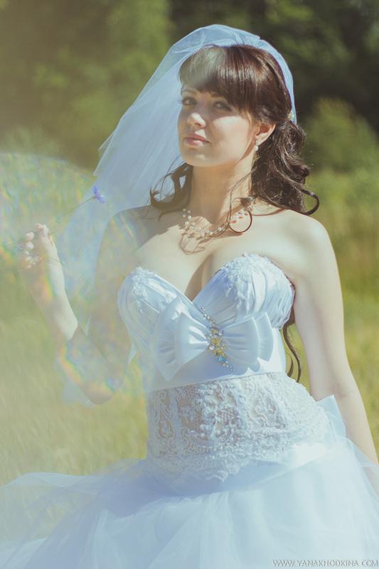 Портрет невесты. Эффекты при фотосъемке